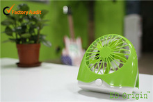 Funny Design Mini USB Desk Fan for Office/Plastic Power Fan