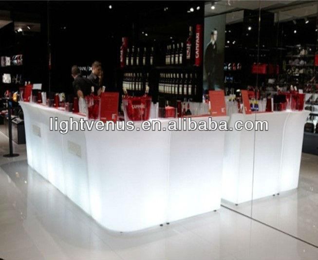 Night club LED bar counter