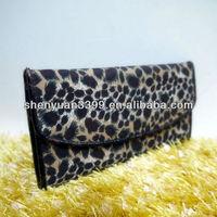 New fashion leopard clutch woman hand bag