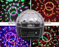 led digital crystal ball magic light with DMX 512