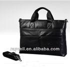Western style fashion genuine leather tote & shoulder laptop & computer men bag wholesale 2013
