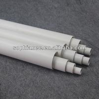 General Standard Cheap Plastic Tubes Metric PVC Pipes