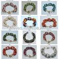 collegamento spianare bracciale catena bling bling 12 colori disponibili braccialetto