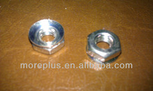 HEX NUT WITH CONICAL WASHER, ZINC PLATED & ULTRASEAL