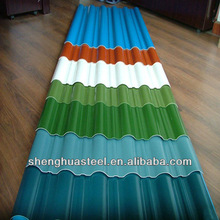 Yiwu Factory Color Steel Metal Roof Tile/Roofing Sheet/Galvanized Metal Roof Panel/PPGI/GI/BWG