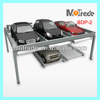 China Parking Association Vertical and Side Moving CE Approved Car Parking System