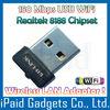 MINI USB 2.0 WIRELESS N NETWORK ETHERNET ADAPTER WiFi NANO CORDLESS SMALL