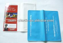 Plastic Air Flight Ticket Holder