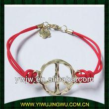 peace hand woven bracelet for friendship (JW-G1712)