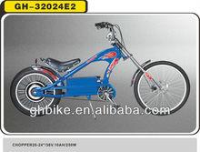 36v electric chopper bike electric beach cruiser bike bicycle