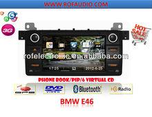 Car DVD GPS Sat Navigation for BMW E46 (1998-2006)/X3/Z3/Z4