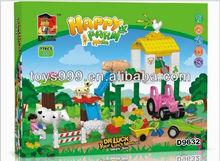 77PCS 3D Building Block For Kids Happy Farm Toy