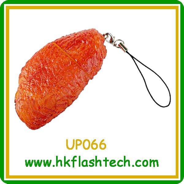 Verisimilar chicken wings design usb pendrive