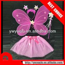 butterfly wing/headband/wand/skirt sets