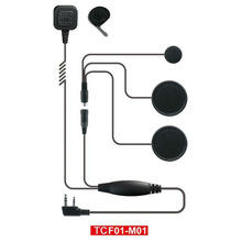 Waterproof two way radio helmet headsets TC-F01M01