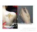 2013 nuevo diseño brillo brillo del tatuaje plantilla