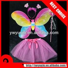 costume headband wand wing set