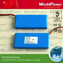 hotest! 12v li po battery 2000mah- industrial equipment li polymer battery - free solution provider