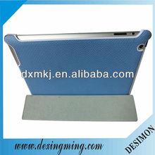Basketball pattern blue PU case for ipad mini