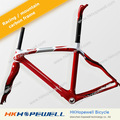 Hkhopewell think2 65.1 65hm1k de carbono marco para pinarello fork+seatpost+headset +clamp