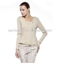 Fashionable new design sweaters of cardigan feminine