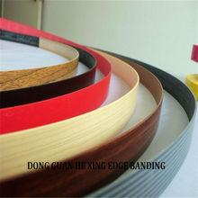 popular selling abs plastic furniture wood grain color pvc edge banding fr furniture