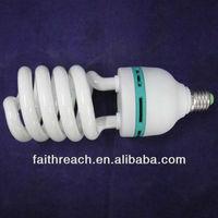 65W/75W/85W half spiral energy saving light bulb