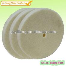 8 polegada metal abrasivo mancha remoção da roda de nylon desenhos de limpeza produtos