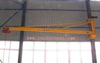 BZQ Model Indoor Used Jib Crane Indoor Used Wall Mounted Jib Crane