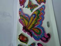 2013 New Design! Lovely Kids 3D puffy cartoon kids stickers