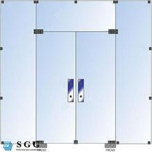 High quality sliding frameless tempered glass door