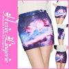 2013 Hot Sale Fashion Ladies Galaxy Sexy Short Skirt