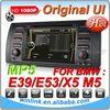 1080P Original UI car radio with navigation for bmw e39 e53 m5