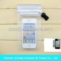 Promotional PVC waterproof plastic bag for iphone