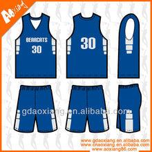 Professional league match basketball jersey customized
