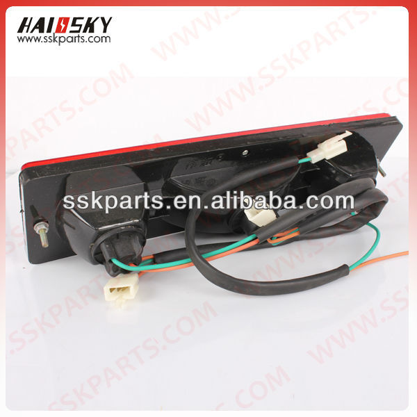 China three wheel cargo motorcycle parts for tail light