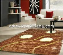 fashion polyester handmake Ultra-soft and Fluffy shaggy rug