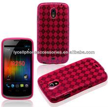 For Samsung I9250 Galaxy Nexus Accessory Pink Protector Diamond TPU Phone Cover Skin