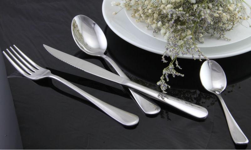 High class inox cutlery set