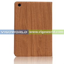 Wood pattern leather case for iPad Mini