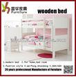 Color Natural del cabrito literas para el dormitorio