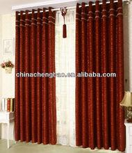 new model Flocking curtain fashion 2013