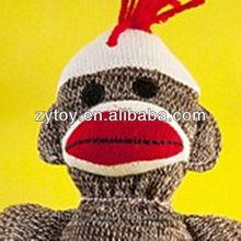 Plush Sock Monkey Toys For Children