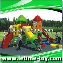 Plastic garden adventure playground