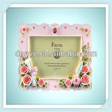 tin photo frame ,emblem, pictrue frame