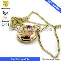 2013 japan movt pocket watch & wholesale pocket watch & pocket watch body in lower price