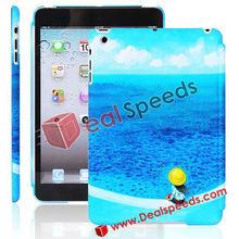 Unique Beautiful Sea Scenery Pattern Hard Cover Case For iPad Mini
