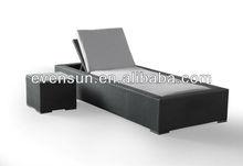 2pcs good design wicker beds on sale