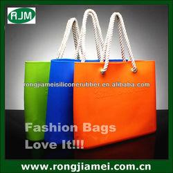 Promotinal Silicone Shoulder Bag Rubber Women Handbags