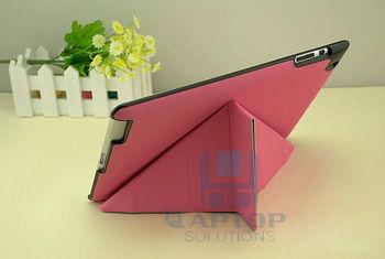 Multi Angles Ultra slim Transformers Stand Leather Case Skin For Mini iPad